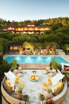 @Condé Nast Traveler's Top 100 Hotels & Resorts in the World: Auberge du Soleil, Napa