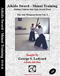 Mitsugi Saotome Sensei is unique in the Aikido community to utilize the fukuro shinai. George Ledyard shows how the shinai can be used to develop strong sword technique and intention.