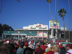Go to the Rose Bowl.