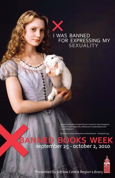 Alice in Wonderland Banned Poster