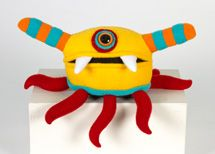 Mr. Sogs - felted, handmade creatures - $45. The Museum Store is a handcrafted gallery style space representing local and regional artists.