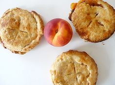Peach Pie Tartlets