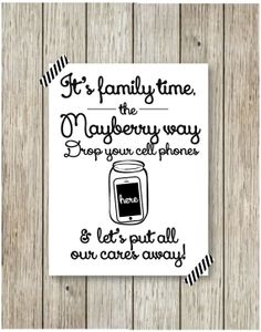 Family Time Print by CoCoStineDesigns on Etsy, $15.00