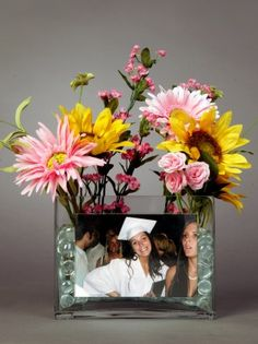 Easy centerpieces for graduation parties