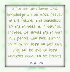 create kids who love learning
