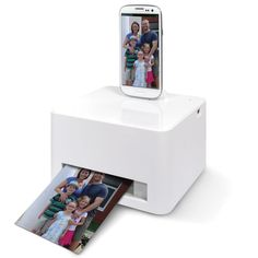 The Android Smartphone Photo Printer - Hammacher Schlemmer
