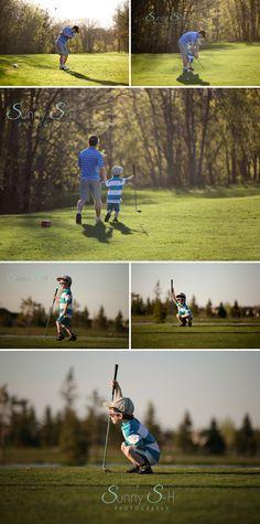 Golden Light on the Golf Course - Winnipeg Photography