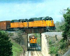 pacific union trains | TRAINS OF THE UNION PACIFIC RAILROAD