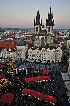 Prague Christmas Market, Czech Republic.