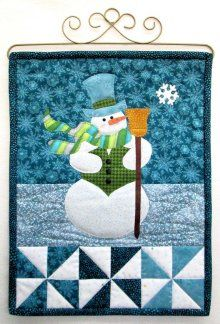 Little Blessings Mr. Snowman Wall Hanging Kit