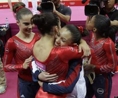 U.S. Women's Gymnastics Wins Team Gold Medal At London Olympics
