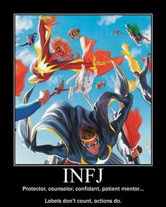 INFJ definit infj, person, heroes, hands, action, mirror infj, label, introvert, motivational posters