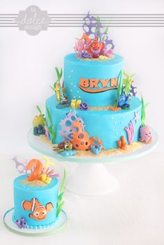 Finding Nemo Cake (or maybe finding nemo 1st birthday) decisions decisions..