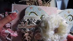 """Shabby Chic Butterfly Mini Album """"Family Moments"""""""