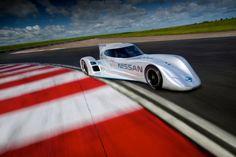 electric ZEOD race car