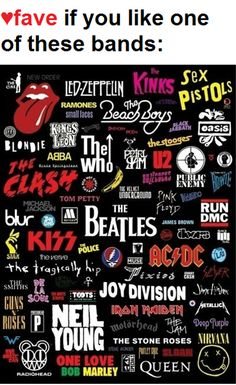 Rock Bands <3