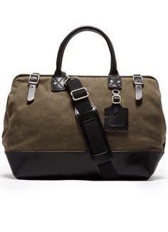 Billykirk Medium Carryall Black Leather