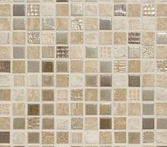 Neutral with shimmer tile
