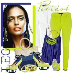 """Peridot Perfection"" by allib4sho on Polyvore"