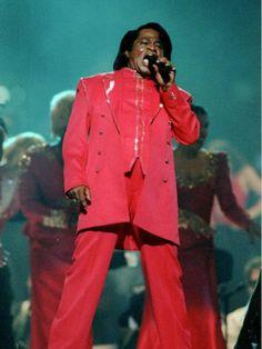 James Brown - Super Bowl XXXI (1997). Theme: Blues Brothers Bash