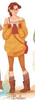 my favorite hipster disney princess