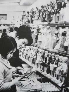 Tammy and Barbie dolls at a department store, Japan, 1966. S)