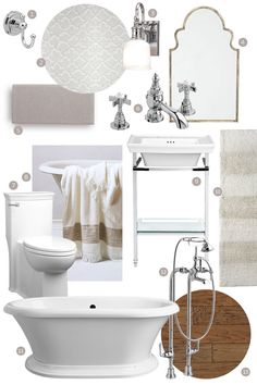 A Classic Bathroom Design