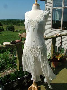 Wedding Dress 1920s vintage inspired by RetroVintageWeddings, $435.00