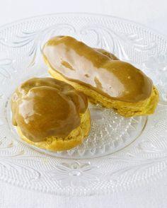 Cream Puffs with Pastry Cream and Maple-Espresso Glaze Recipe