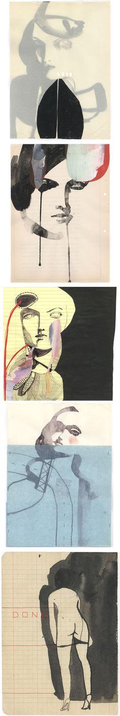 draw, blog idea, artists, sensual art, artist tina