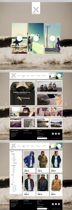 OXBOW : SOURCES | Webdesign / e-Commerce - created via http://pinthemall.net