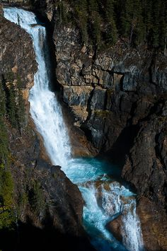 Falls of the Pool, Mt Robson Provincial Park, British Columbia