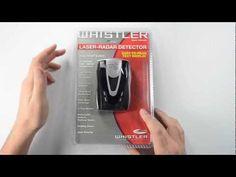 Whistler XTR-555 Radar Detector Unboxing