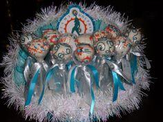 Miami Dolphins Cheerleader cake pops