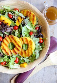 Grilled Tropical Summer Salad