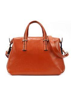 Classic brown bag