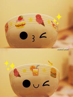 Cute bowl by sealed pearl ♥, via Flickr
