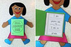 Cute back-to-school craft!