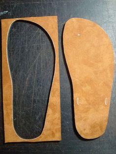 DIY Leather Sandals