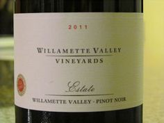 Willamette Valley Pinot Noir:  Excellent Pinot Noir from Oregon.  See the review... http://www.honestwinereviews.com/2014/09/willamette-valley-pinot-noir-review.html