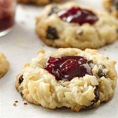 Cherry Sugar Cookie Macaroons Allrecipes.com