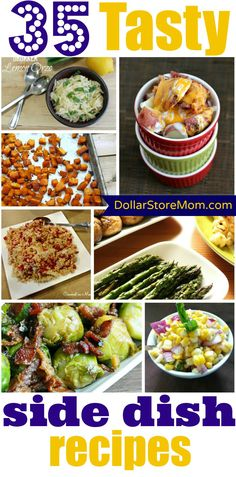 35 Tasty Side Dish Recipes