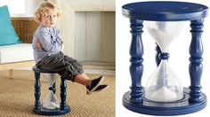 Hourglass Timer Stool Nixes Tantrums in Just 5 Minutes