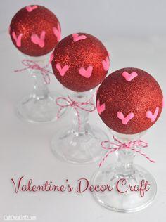 Easy Valentine's Decor Craft Idea