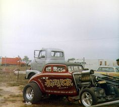 Agitator Willys coupe gasser