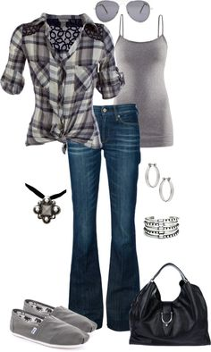 Cute outfit, I think I will wear different shoes :)