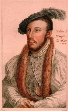 William Parr, 1st Marquess of Northampton, 1st Earl of Essex and 1st Baron Parr. B. Aug. 14, 1513-D. Oct. 28, 1571. Brother of Queen consort, Catherine Parr, Edward VI.'s 'beloved uncle', and one of the most important men at Edward's court. Sentenced to death on 18 August 1553 after the accession of Mary I. He was, however, released in the autumn. His titles were restored to him by Elizabeth I. in 1559. Elizabeth paid for his funeral and burial.
