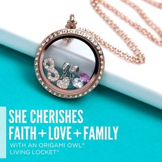 Give mom everything she cherishes with a Living Locket.
