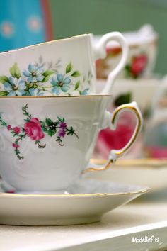 china collect, exquisit china, vintag china, high tea, madelief, floral teacup, tea cup, aunt tea, thing