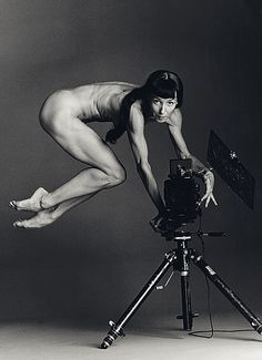 """Self Portrait""  by Sylvie Guillem."